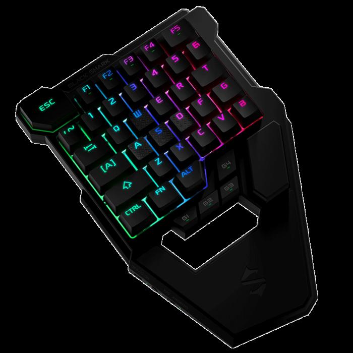 Black Shark One Hand Mechanical Gaming Keyboard