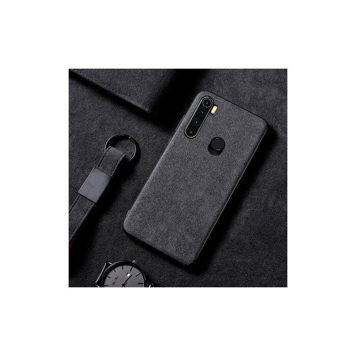 Xiaomi Redmi Note 8 Case Zeaplus Protective Alcantara Cover