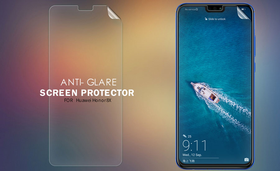 Huawei Honor 8X Screen Protector - Nillkin Super Clear / Matte