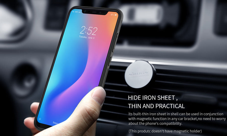 Nillkin Protective Synthetic Fiber Bumper Case For Xiaomi Mi 8
