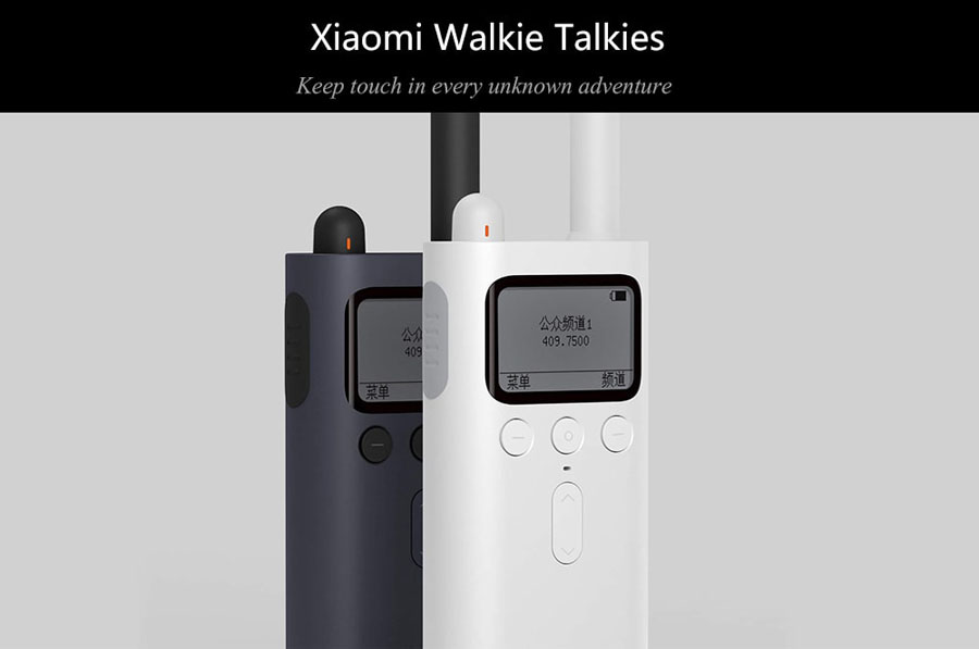 Xiaomi Mijia Smart Walkie Talkie with FM Radio