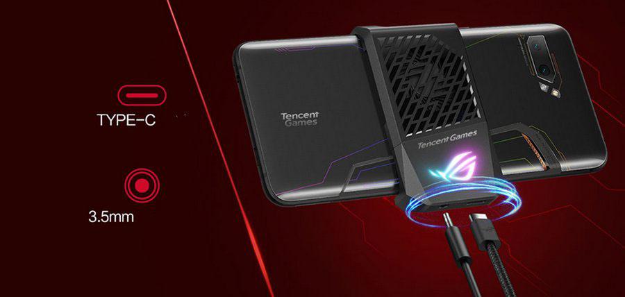 Asus ROG Phone 2 AeroActive Cooler II - Official AeroActive