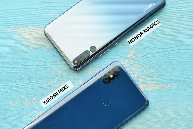 Xiaomi Mi Mix 3 VS Honor Magic 2