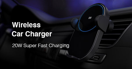buy Xiaomi Wireless Car Charger