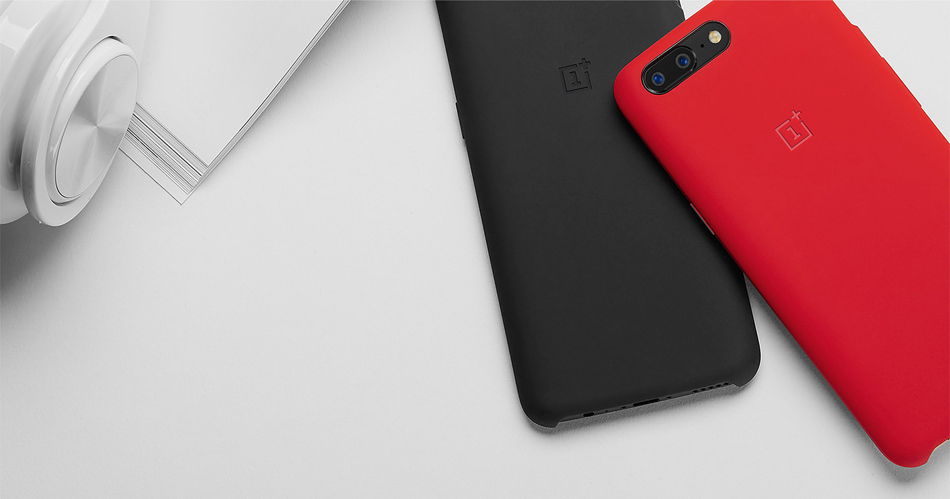 purchase cheap 4dd07 42825 Official Silicone Protective Case For OnePlus 5