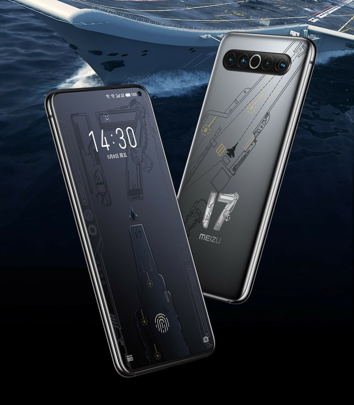 Meizu 17 Aircraft Carrier Edition Will Go On Pre-Orders Tomorrow; Complete Details Here
