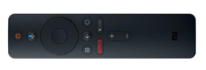 Mi Box S Remote, the basis for the Mi TV Stick remote