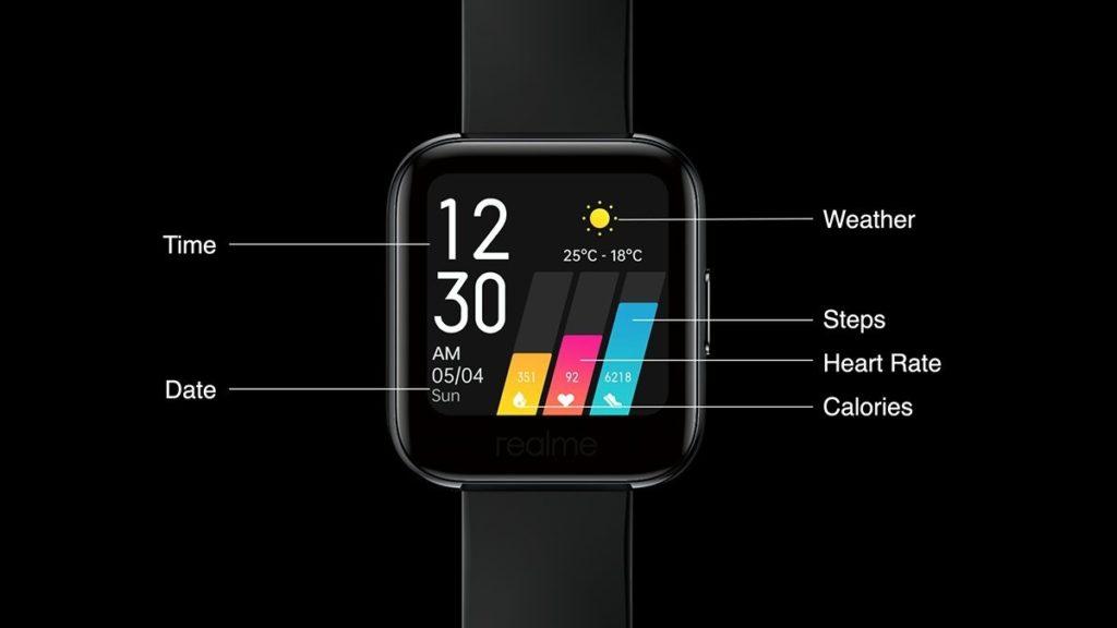 Realme Smartwatch features