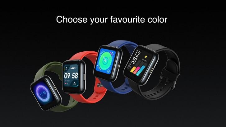 Realme Smartwatch Colors