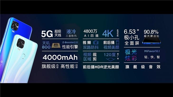 Axon 11 SE 5G specs