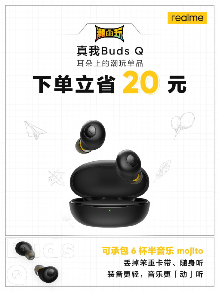 Realme Buds Q discounted