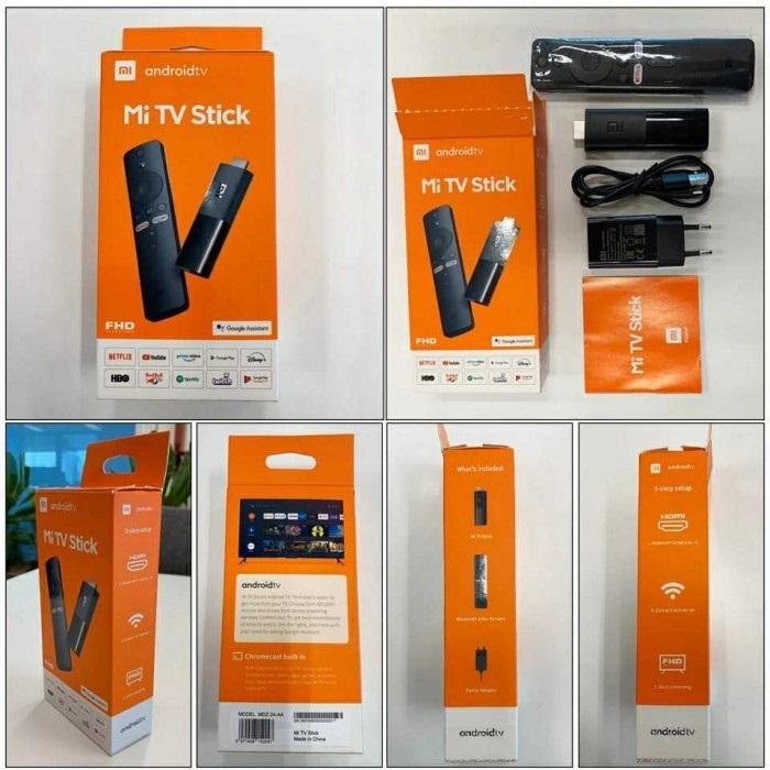 MI TV Stick Packaging