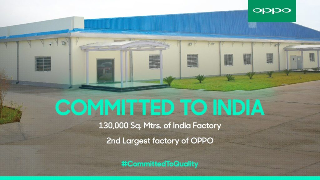 Oppo Factory India