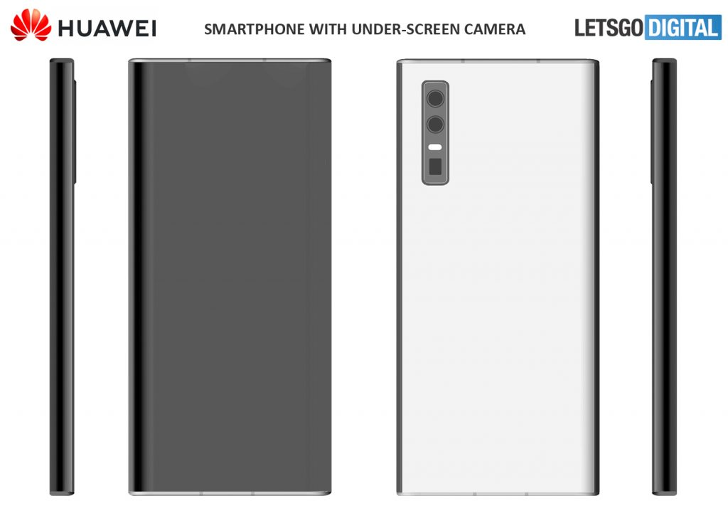Huawei Filed A New Patent For Its Upcoming Under-Display Selfie Camera