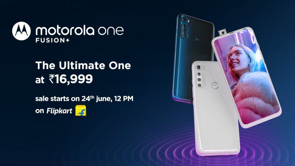 Motorola One Fusion+ With Snapdragon 730G SoC Launched In India At ₹16,999($224)