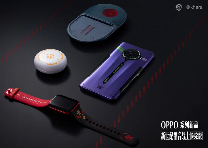 Oppo Launches Oppo Ace2 EVA Limited Editon, Oppo Watch EVA, And Enco W31 EVA; Neon Genesis Evangelion Themed Models Now Available On Giztop