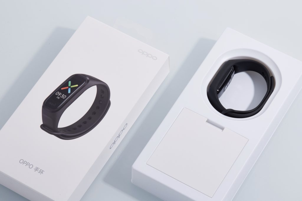 Oppo Band Unboxed On Giztop; Box Contents And First Look