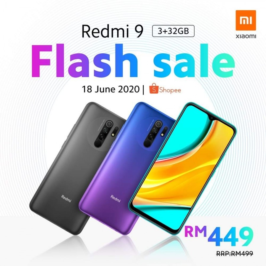Redmi 9 Arrives In The Malaysian Market At A Cheaper Starting Price Of $117