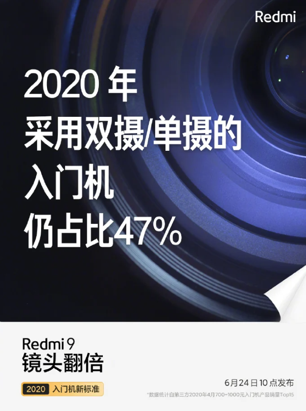 Redmi 9 Will Go Up For Pre-Sale On June 24 In China