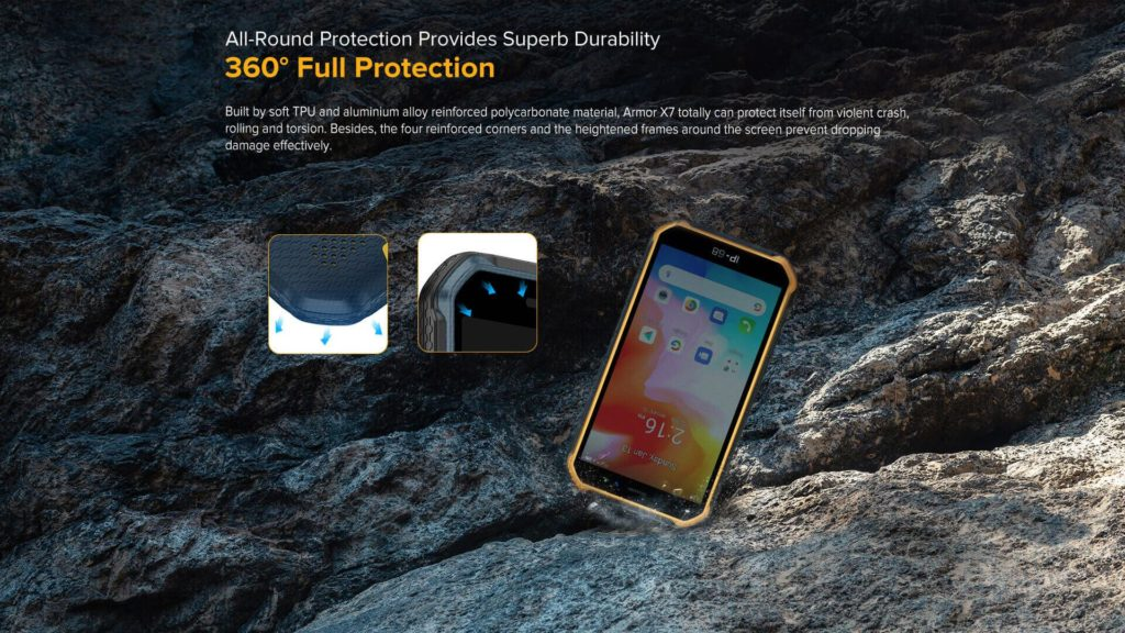 Ulefone Launches Ulefone Armor X7 Pro Rugged Smartphone For $89.99