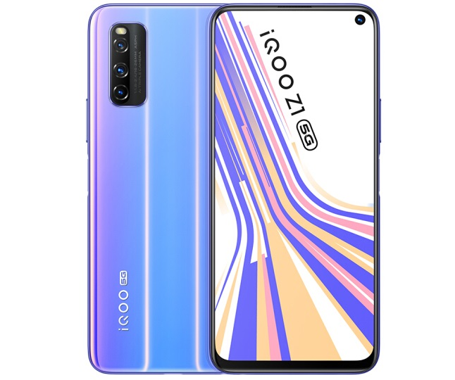 Vivo iQOO Z1 5G Arrives In A New 'Symphony Meteor' Color Variant