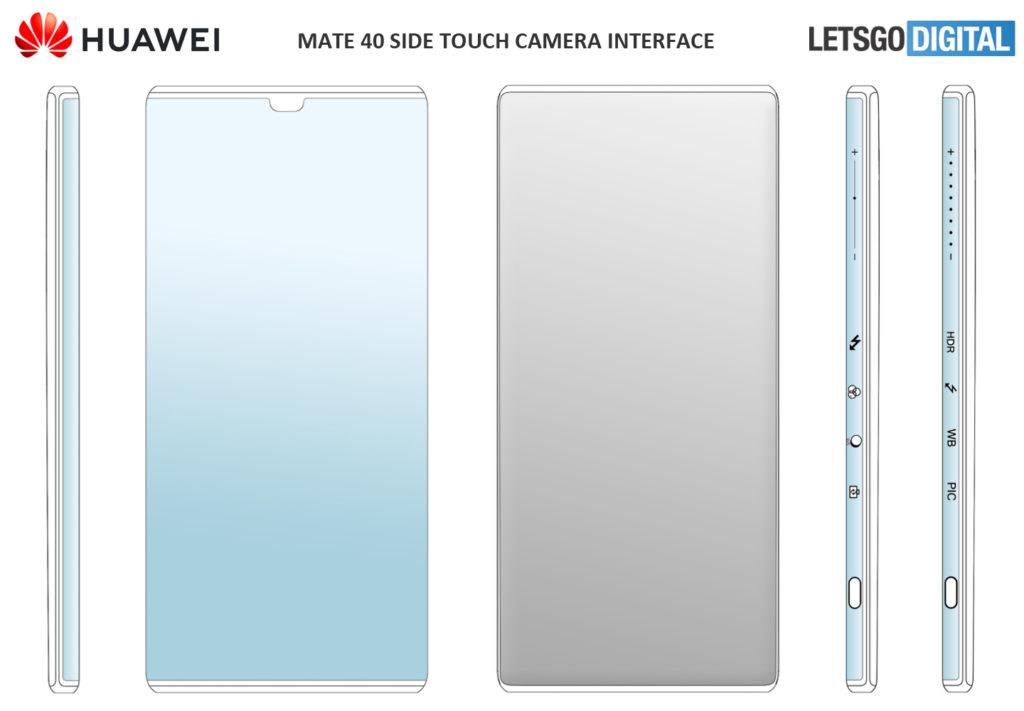 Huawei Mate 40 Patents