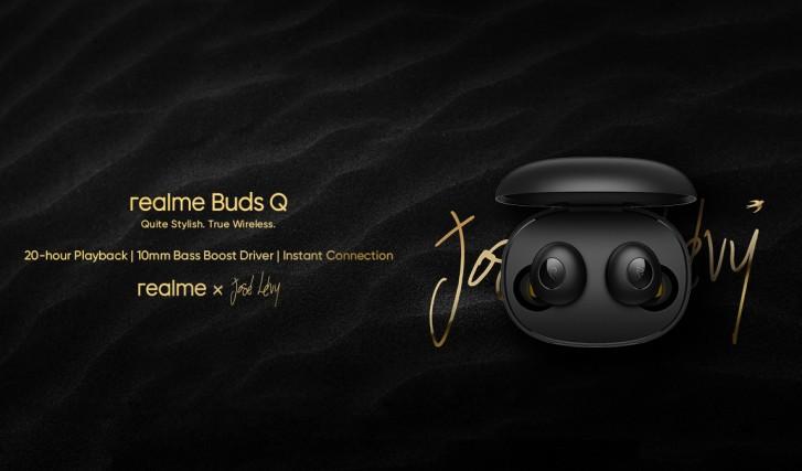 Realme Buds Q renders