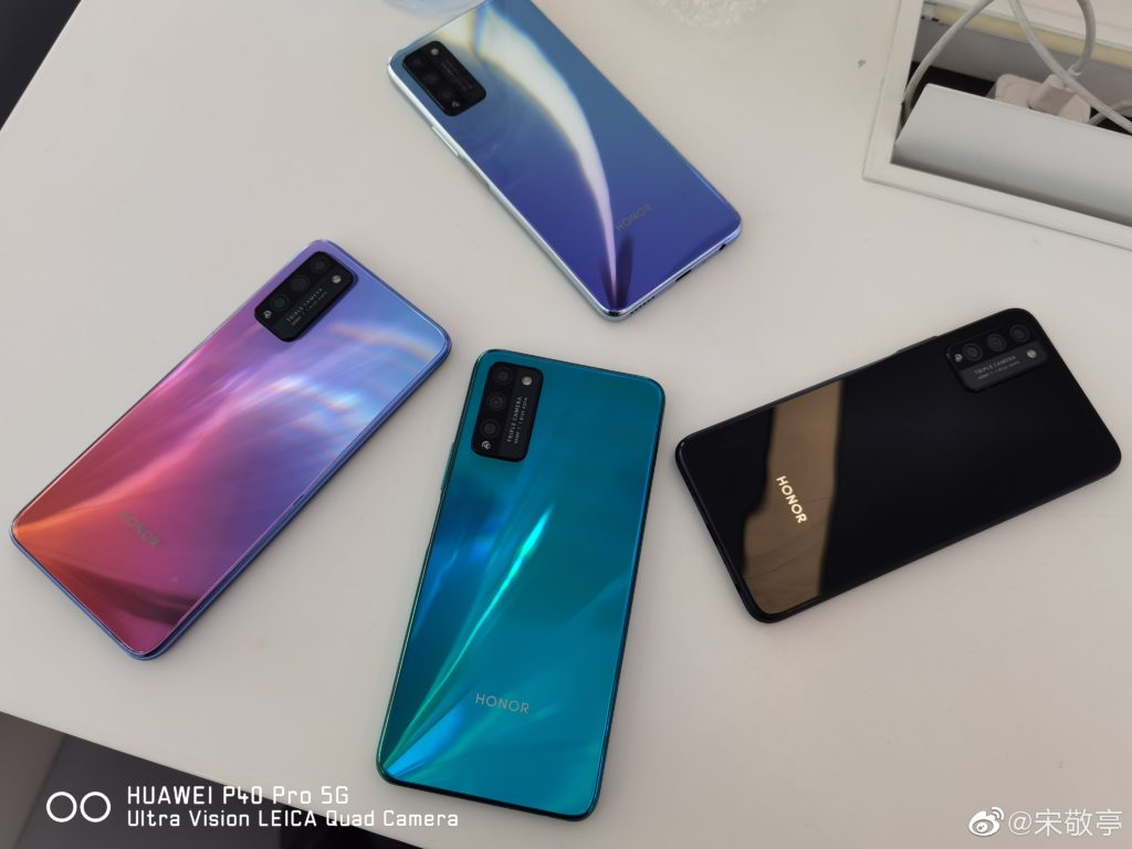 Honor 30 Youth Edition Live Images Surfaced Online