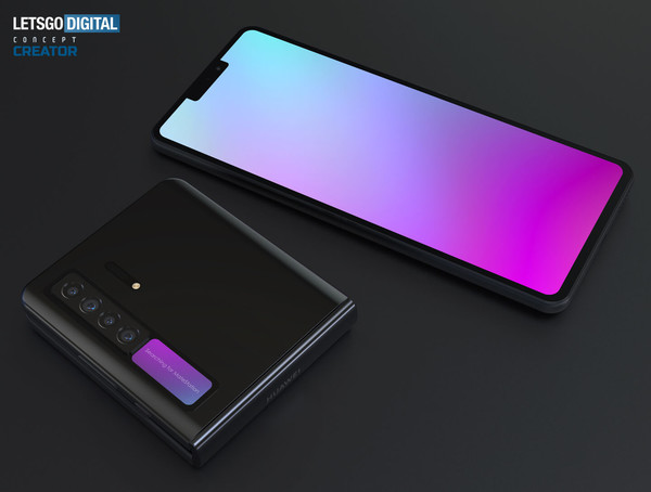Huawei Mate V Foldable Phone Borrows Some Design Elements Of the Galaxy Z Flip; Could Materialize Soon