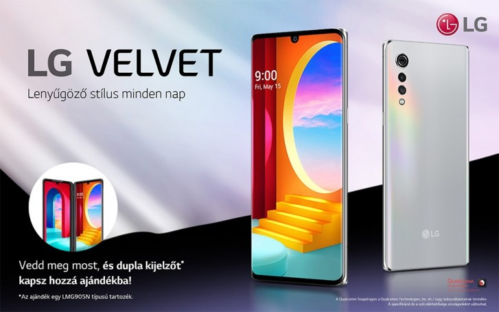 LG Velvet 4G Launched In Europe With Snapdragon 845 SoC