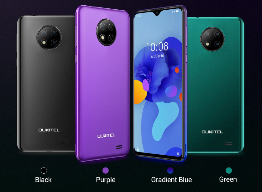 OUKITEL C19 With Triple Rear Cameras and 4,000mAh Battery Launched For Just $59.99