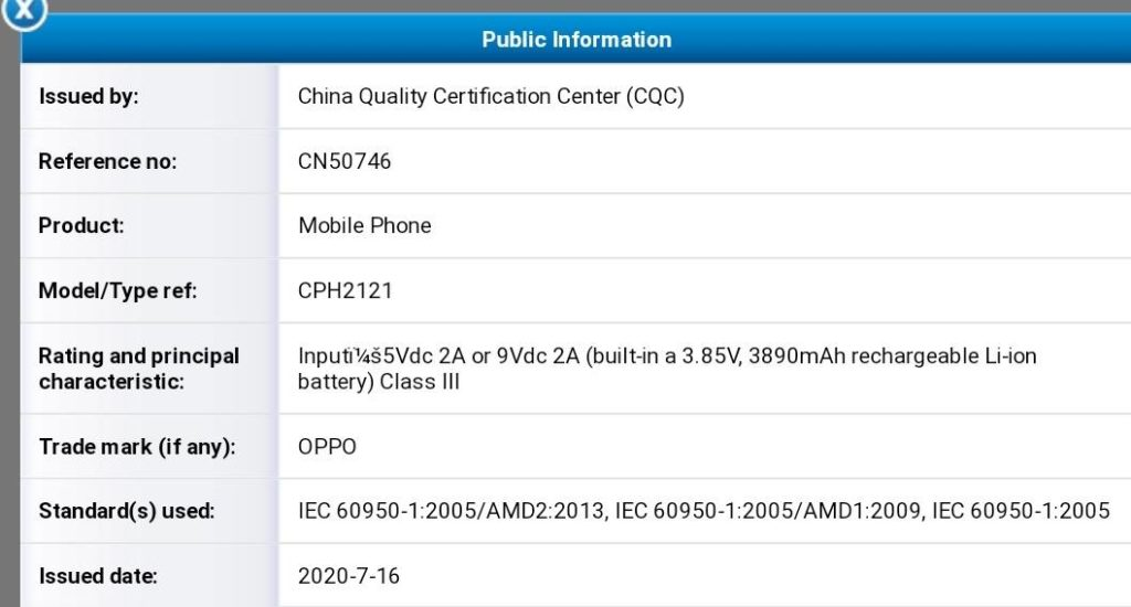 Oppo CPH2121 Emerges On GeekBench With Helio P95 SoC