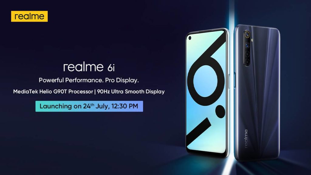 Realme 6i Will Officially Arrive On July 24; Redmi Note 9 Competitor from Realme
