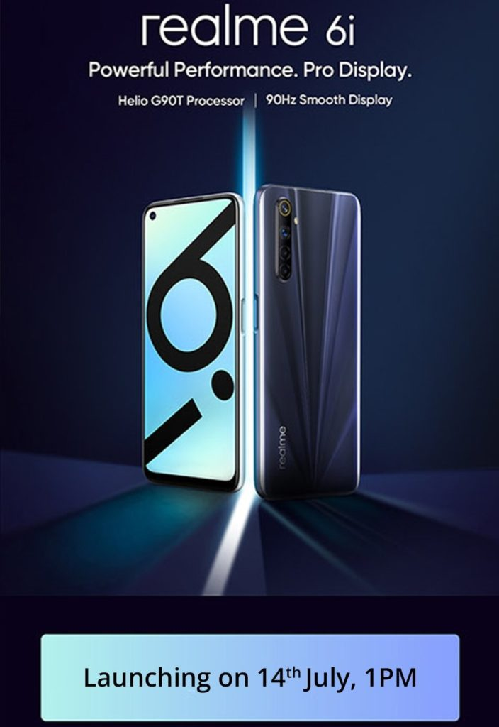 Realme 6i To Launch On July 14 Alongside Realme C11 In India