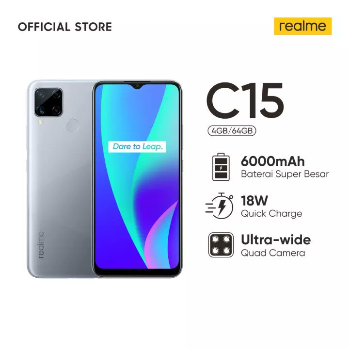 Realme C15 Spotted On Indonesian Retail Website In Two Variants