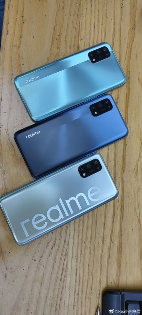 Realme V5 In-Store Images Surfaced Online