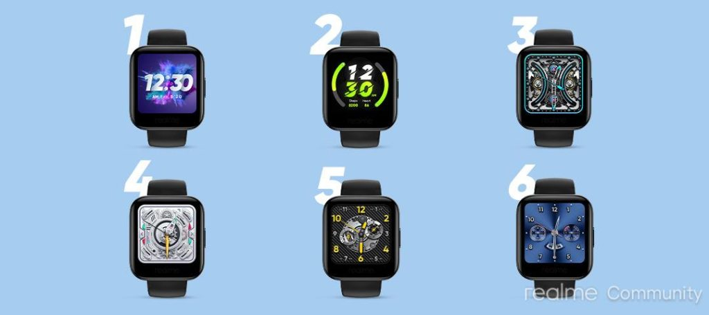 Realme Watch Will Get 20 Fresh Watch Faces; You Get a Chance To Name Them and Win Realme BudsQ