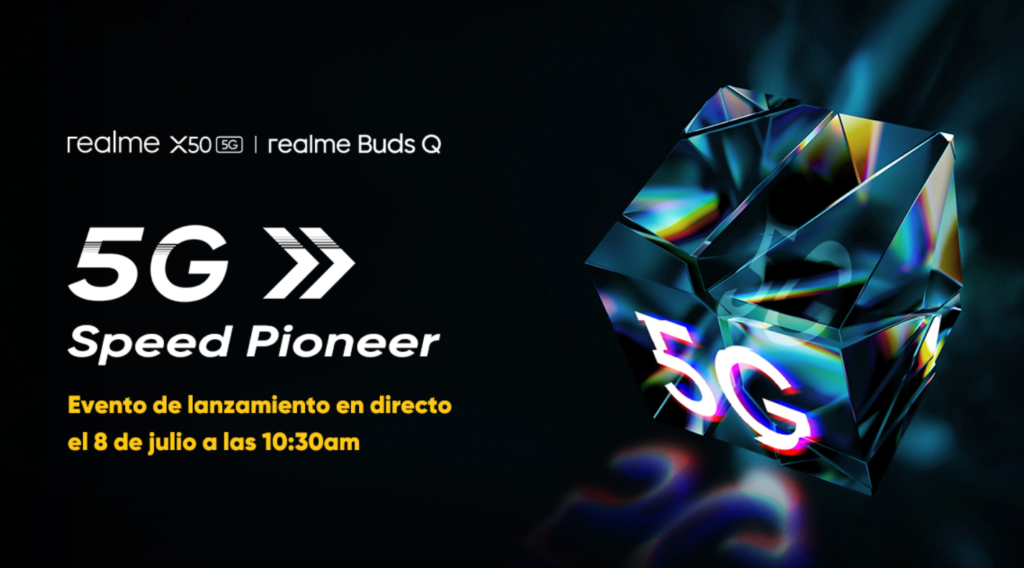 Realme X50 5G and Buds Q Launch Scheduled For July 8 In The European Market