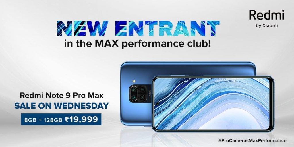 Redmi Note 9 Pro Max Will Finally Be Available In 8GB + 128GB Variant From July 29 In India