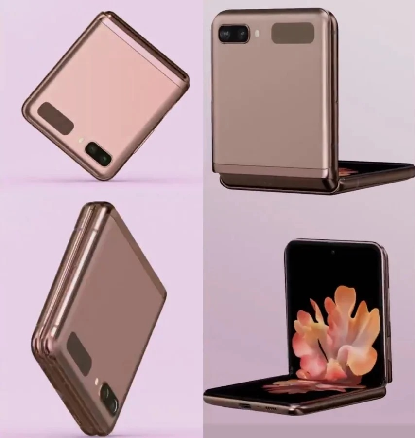 Samsung Galaxy Z Flip 5G Looks Official In The New Mystic Bronze Colorway