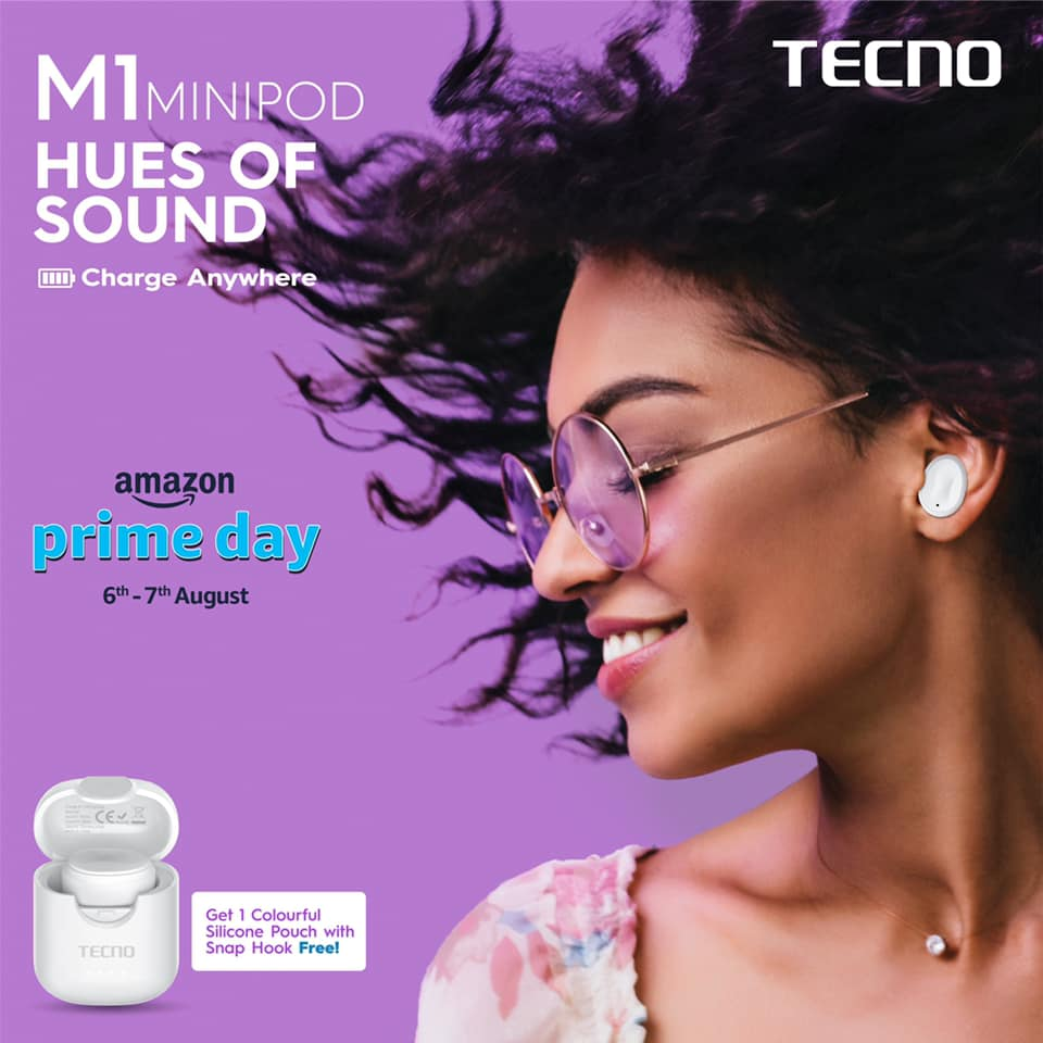 Tecno Minipod M1 Single Earbud Launched For Just ₹700($10)