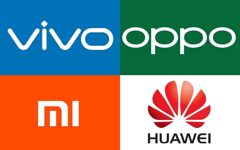 اوپو، شیائومی، هوآوی و ویوو رقبت سخت در بازار چین