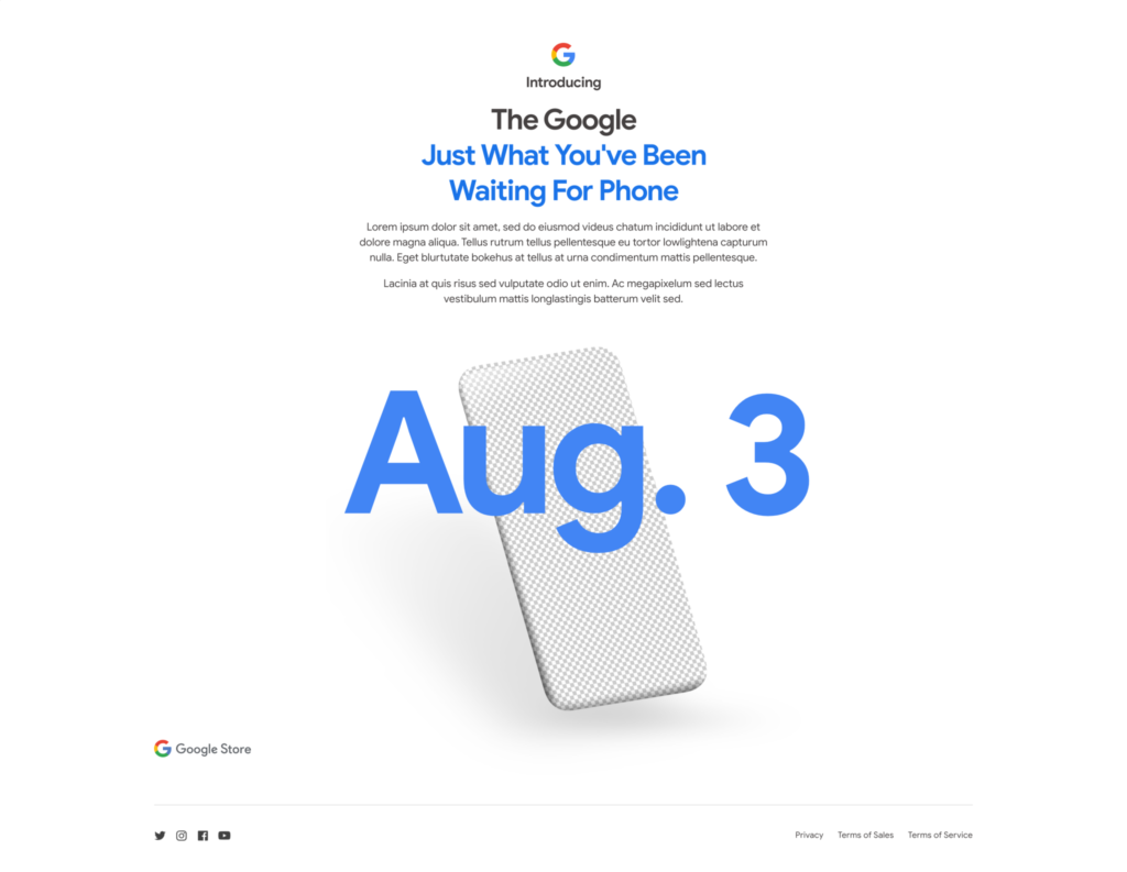 Google Pixel 4A Store Page Confirms August 3 Launch(Finally)
