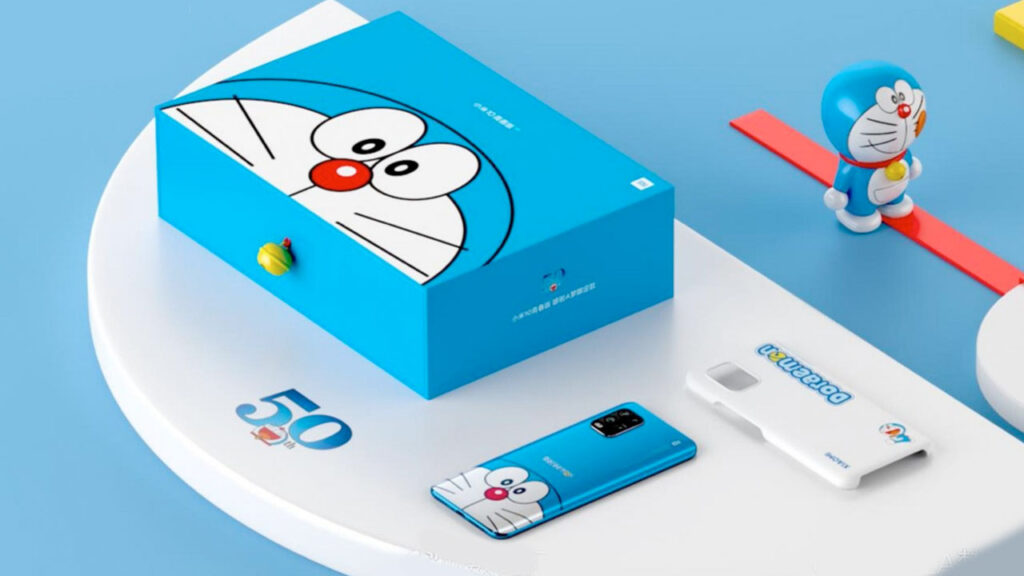 Mi 10 Youth Doraemon Limited Edition Announced With Special Case and Figurine