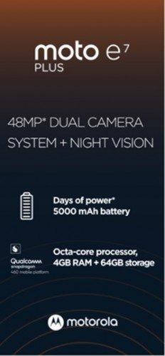 Moto E7 Plus Budget Smartphone's Key Specs Revealed