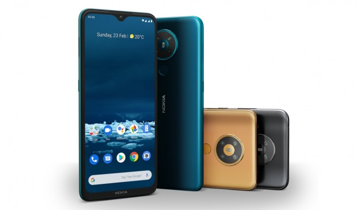 Nokia 5.3 With Quad-rear Cameras and Android One Launched In India