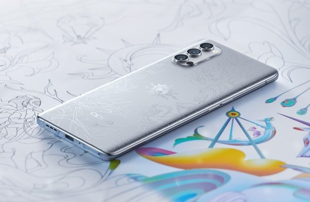 Oppo Reno4 Pro Artist Limited Edition Launched For CNY 4,299($619)