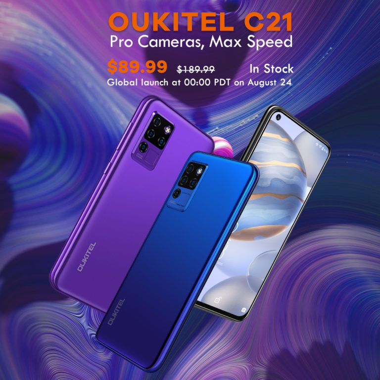 Oukitel C21 Launches For Just $89.99; Brings Punch-Hole Display and Helio P60