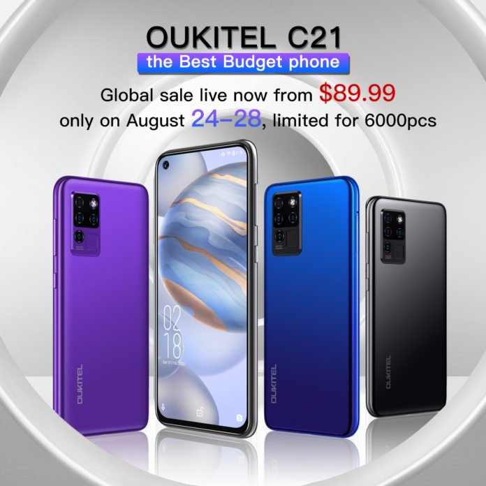 Oukitel C21 Goes On Sale For an Attractive Price Of $89.99