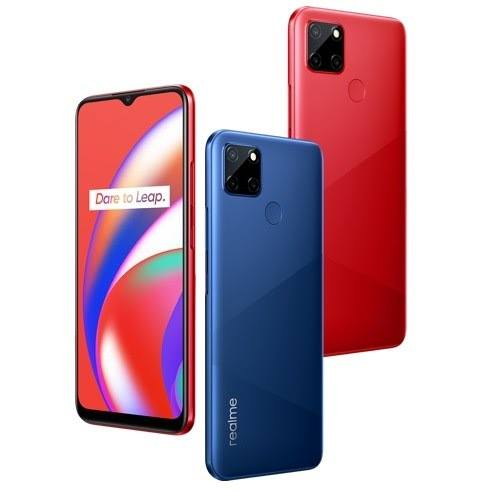 Realme C12 With Triple Rear Cameras and Helio G35 Launched In Indonesia